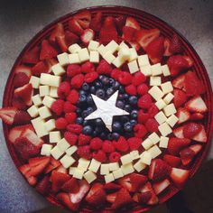 superhero food platter