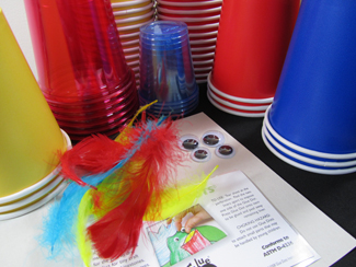 DIY: Angry Birds Party Cups