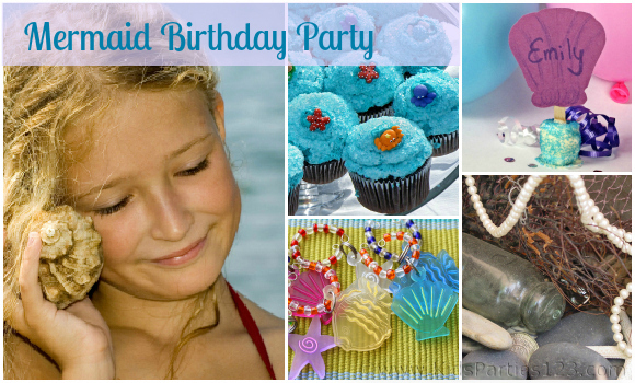DIY Party Theme: Mermaid Birthday