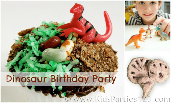 DIY Party Theme: Dinosaur Birthday
