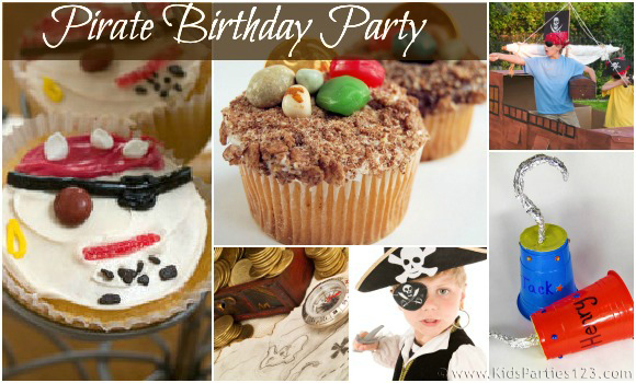 DIY Party Theme: Pirate Birthday