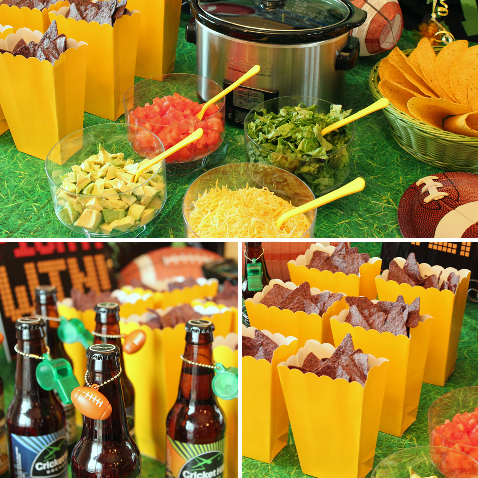Football-Party-Food
