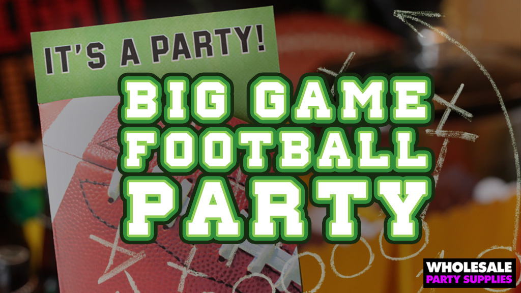 Big Game Football Party