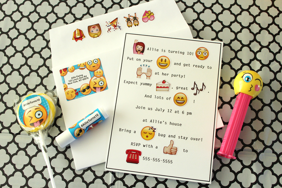 Emoji Party Ideas