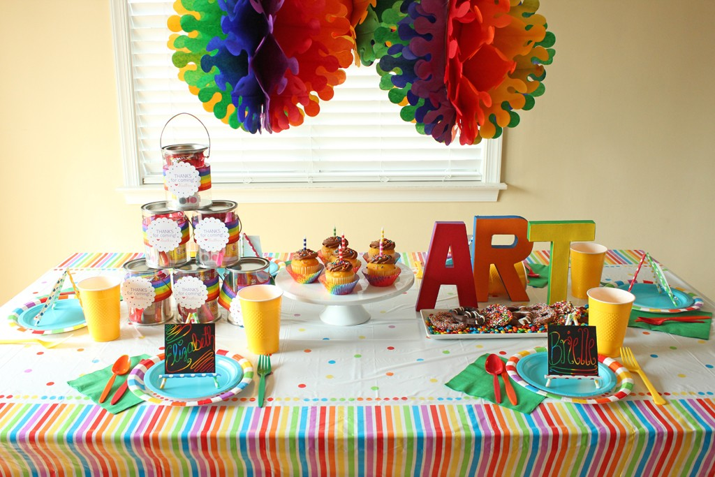 Rainbow Table Decorations