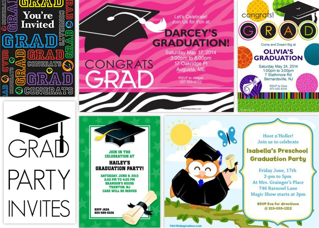 Grad Invitation Ideas