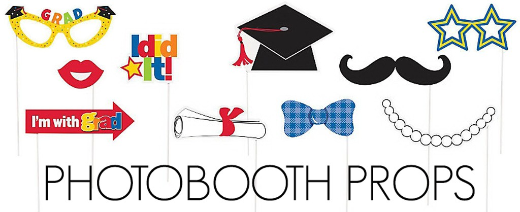 Grad Photobooth Props