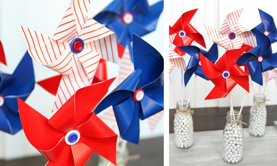 Patriotic Pinwheels Final Look