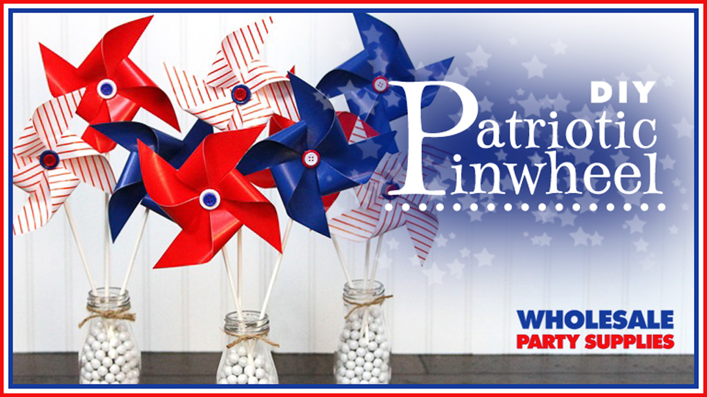 Patriotic Pinwheel Feature