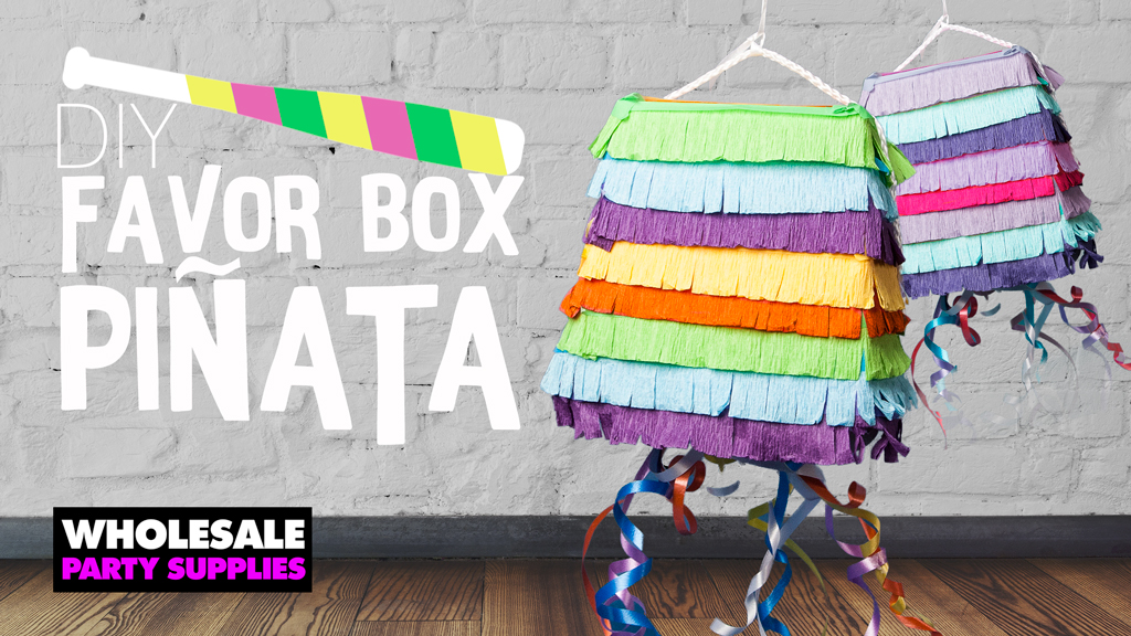 Favor Box Pinata DIY