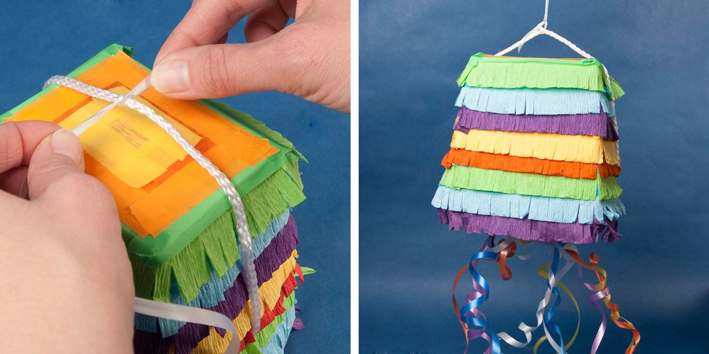 DIY Favor Box Pinata Step 4