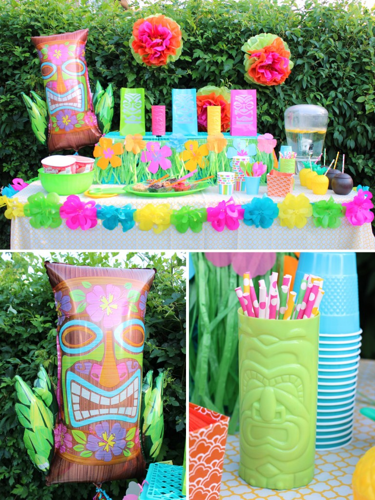 Summer luau party ideas party ideas activities by for Decoration goods