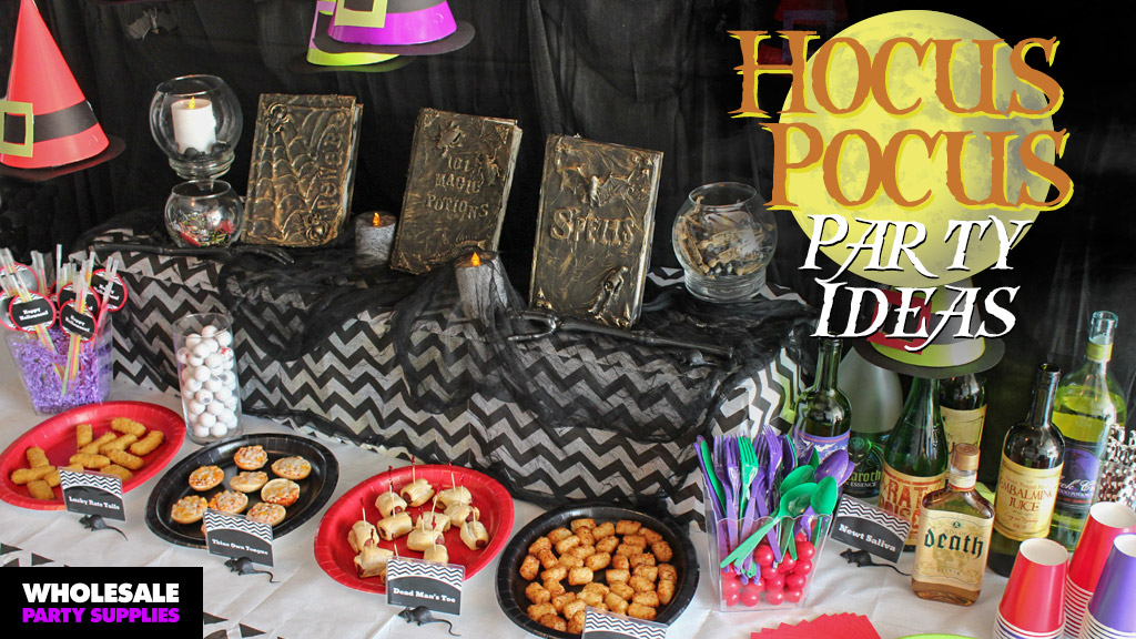 DIY Hocus Pocus Party Ideas