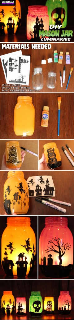 DIY Halloween Luminaries Pinterest Guide