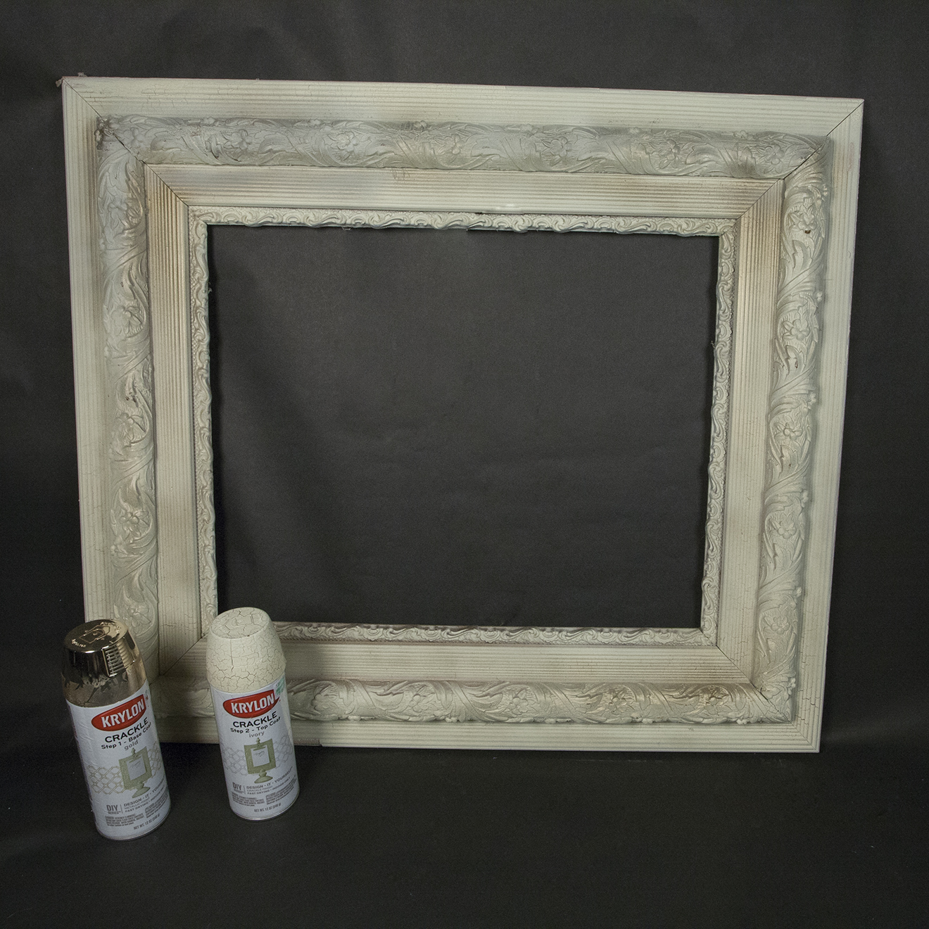 Diy 3d skull picture frames party ideas activities by skull 14 spray paint the frame jeuxipadfo Choice Image
