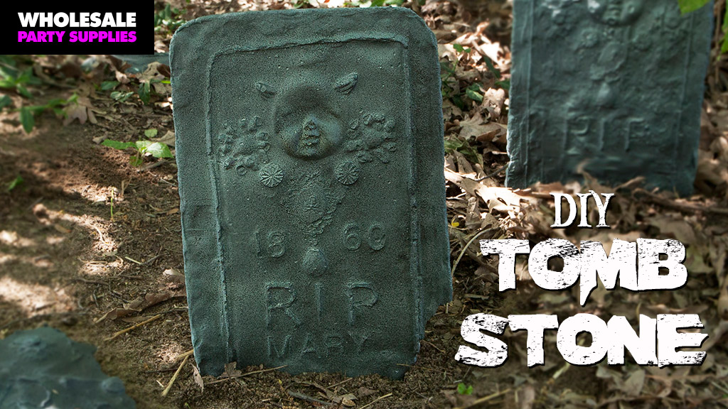 DIY Personalized Tombstones