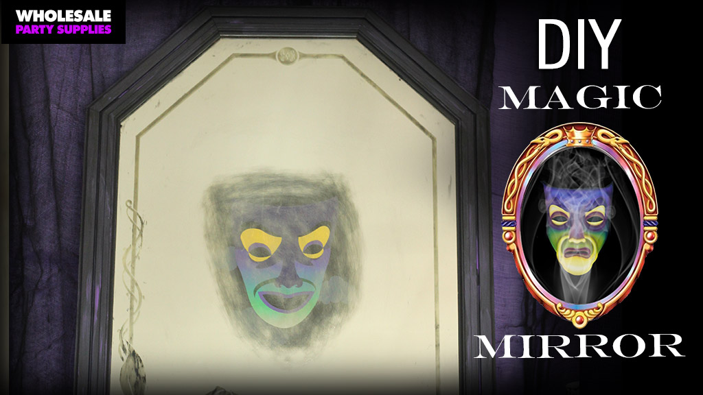 diy magic mirror disney villains craft party ideas activities by