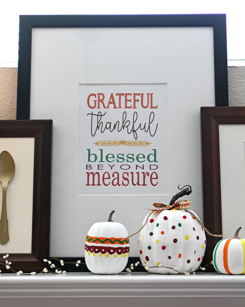 Thanksgiving Mantle 8a