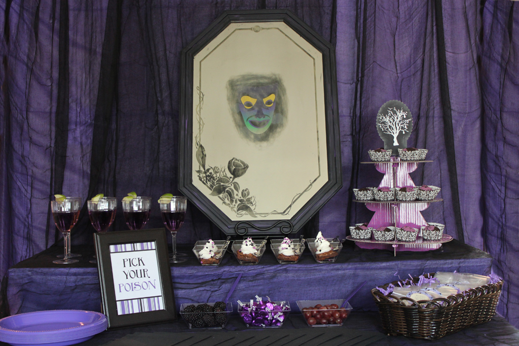 Disney Villains Table