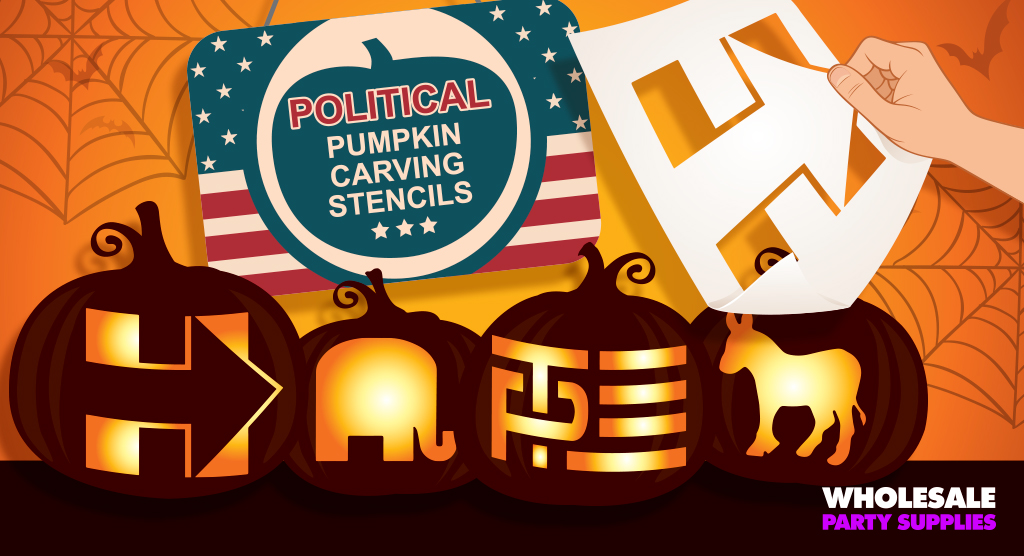 Political Pumpkin Carving Stencils
