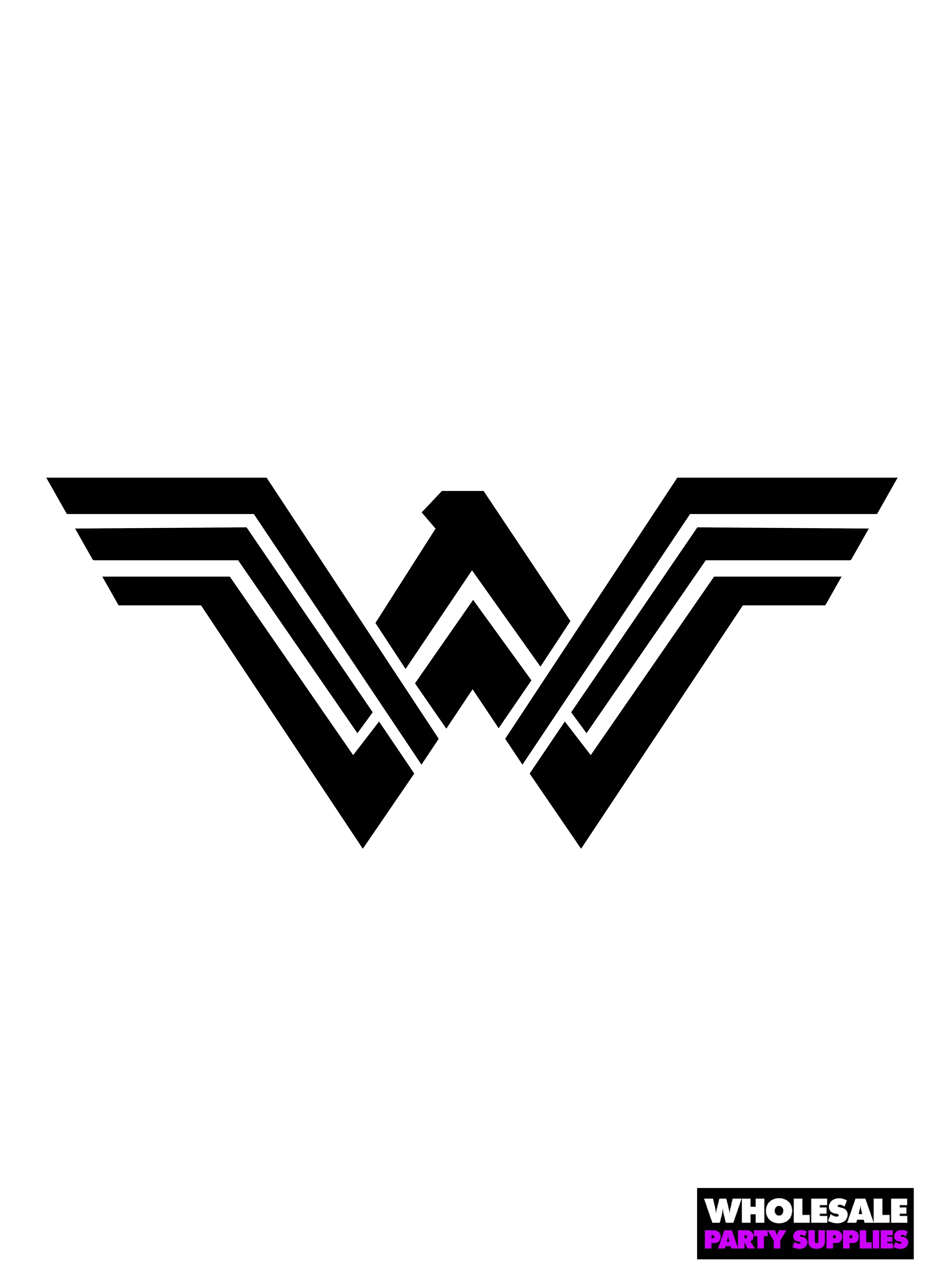 Justice league pumpkin stencils party ideas activities by wonder woman stencil pronofoot35fo Image collections