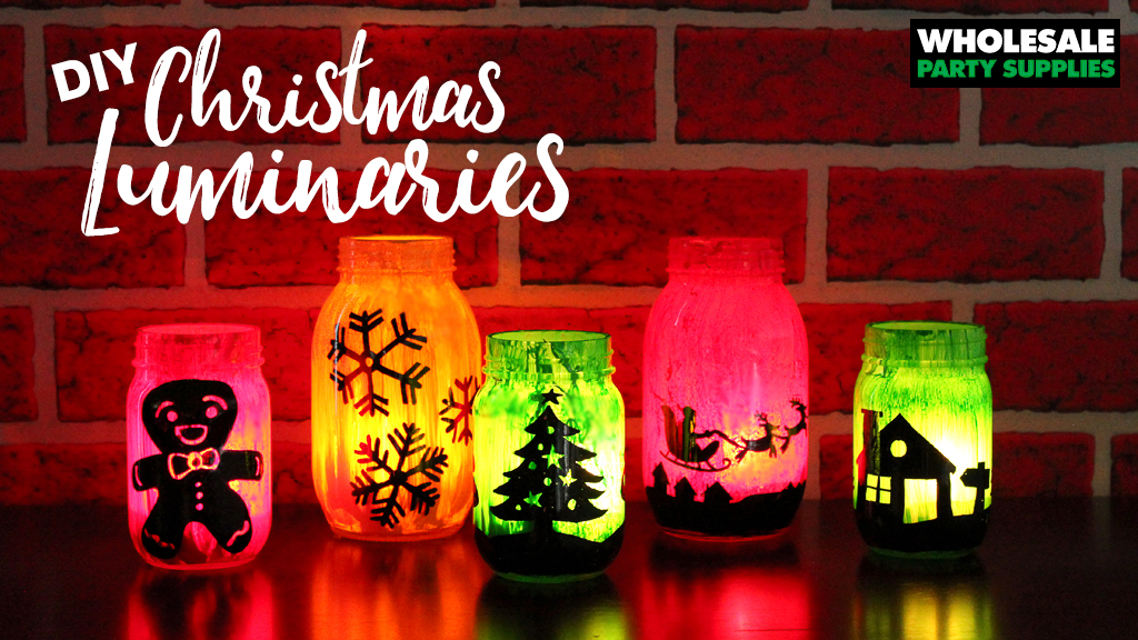 Christmas Luminaries Craft