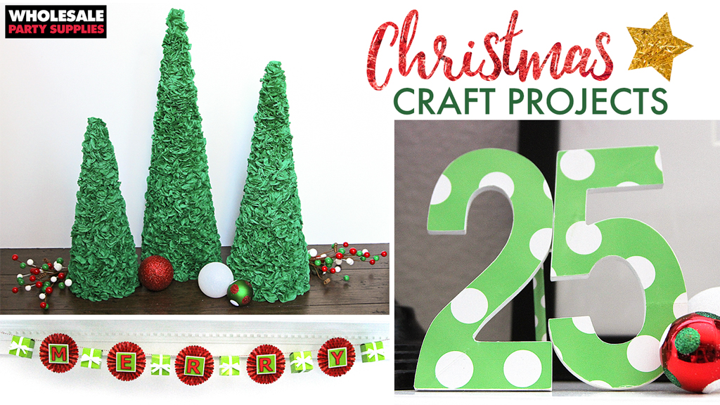 Christmas Mantel Crafts