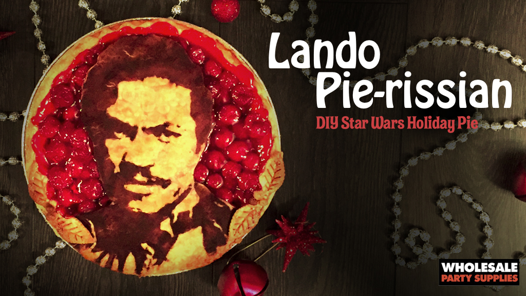 Star Wars Holiday Pies: Lando Calrissian