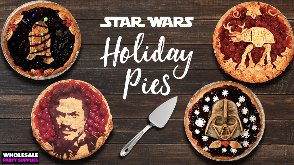A Bakery Far, Far Away: Star Wars Holiday Pies