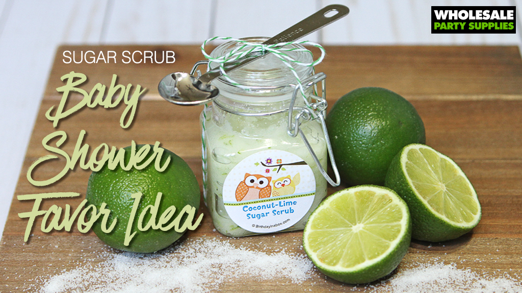 DIY Sugar Scrub Party Favor