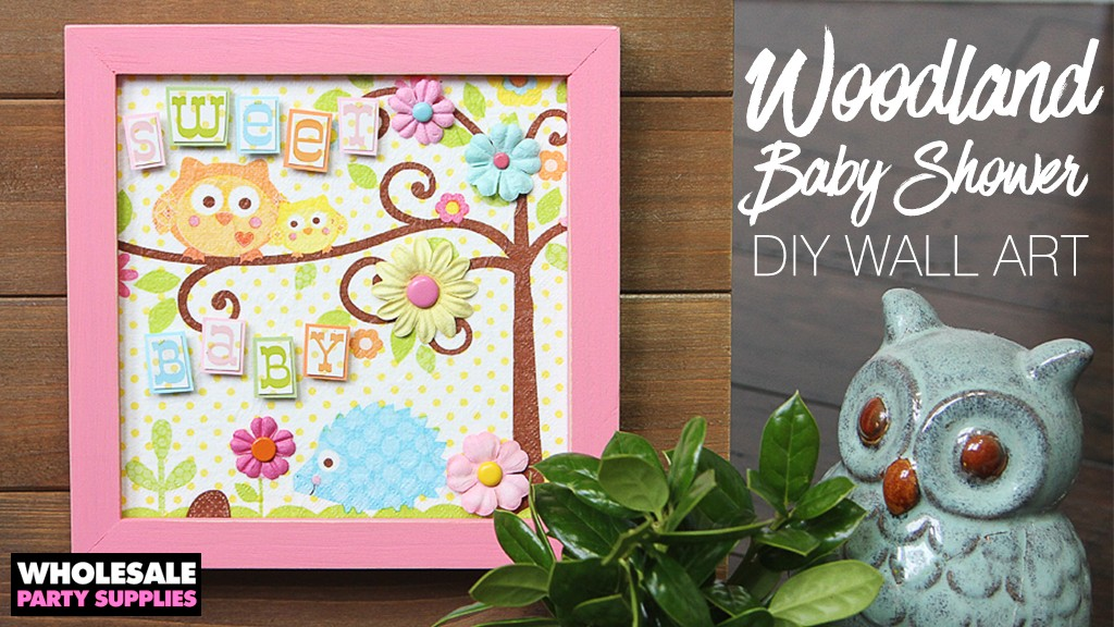 Diy Wall Decor For Party : Diy baby shower wall art party ideas activities by