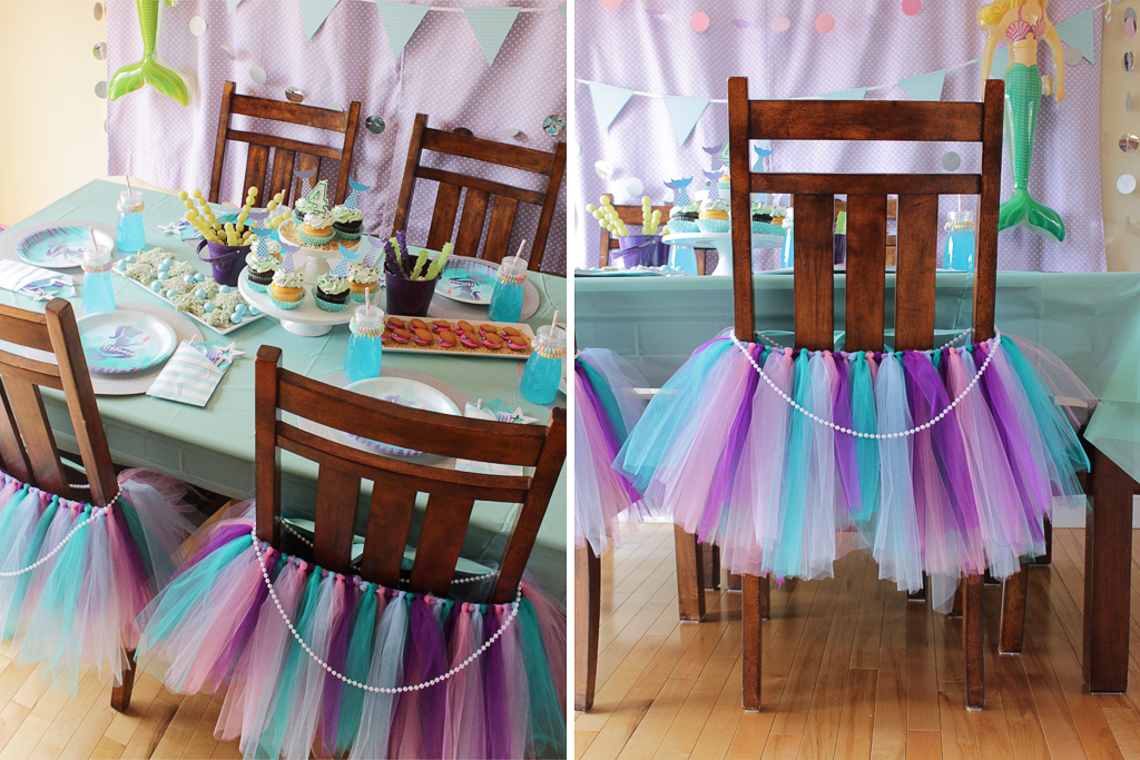 Mermaid birthday party party ideas activities by for Home alone theme decorations