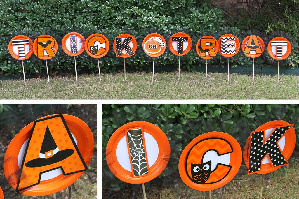 DIY Halloween Yard Signs