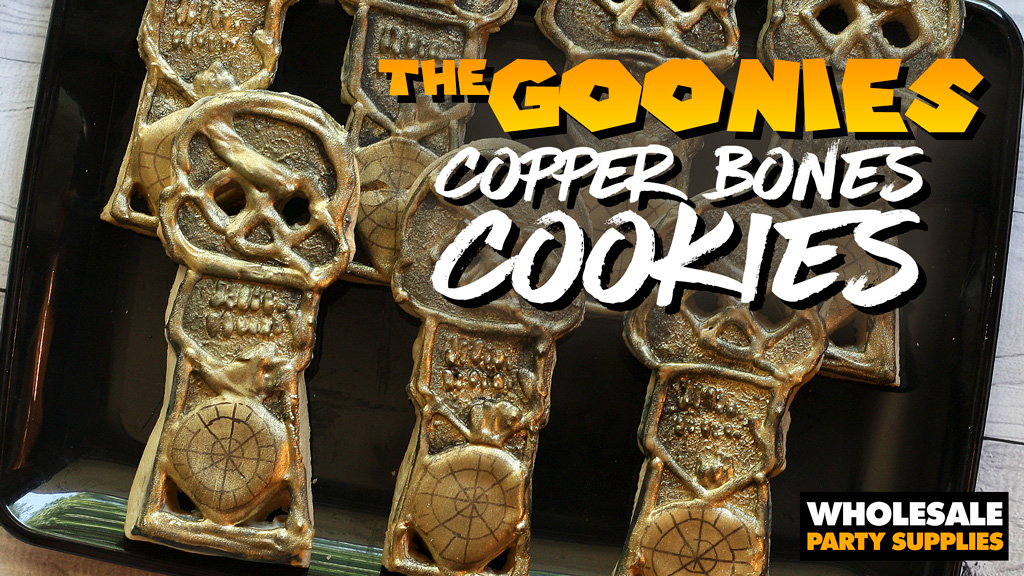 DIY Copper Bones Cookies