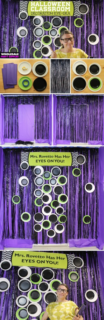Classroom Decorating Idea for Halloween