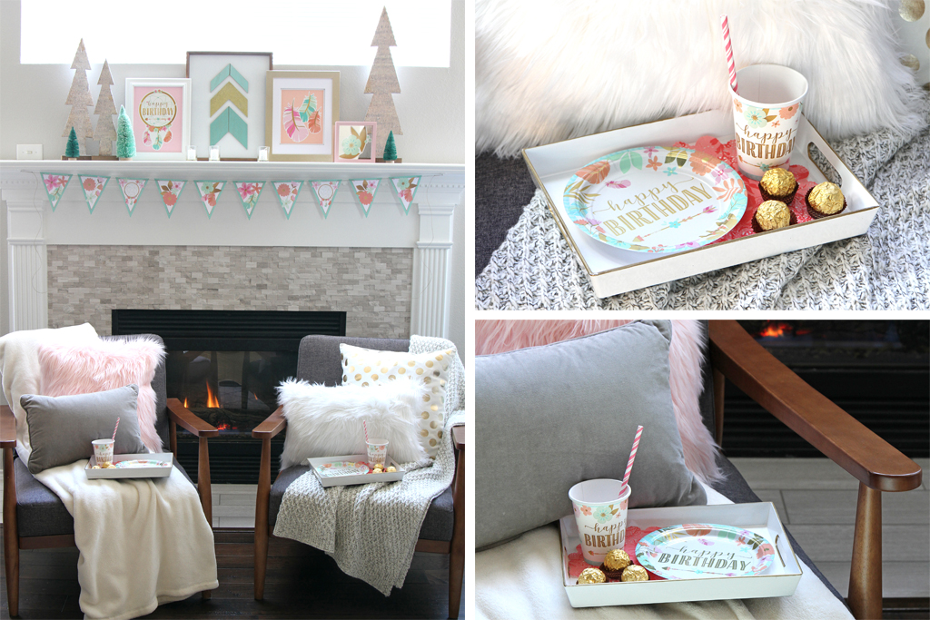 Cozy Boho Birthday Party Decorations