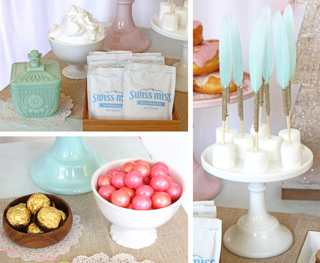 Cozy Boho Birthday Party Food