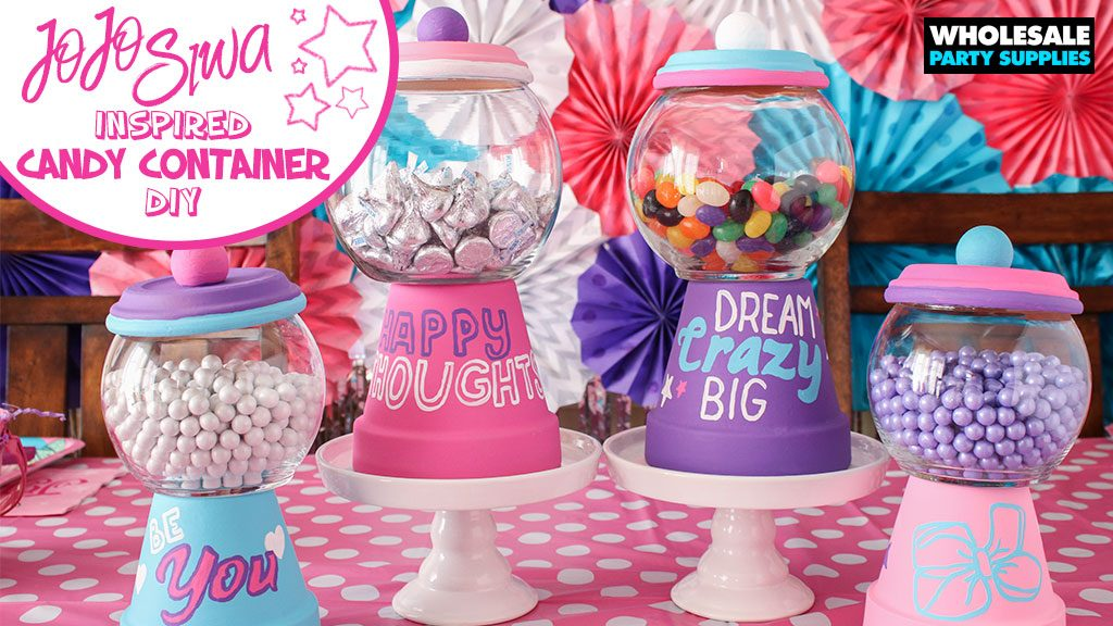 DIY Terra Cotta Candy Container Party Ideas amp Activities