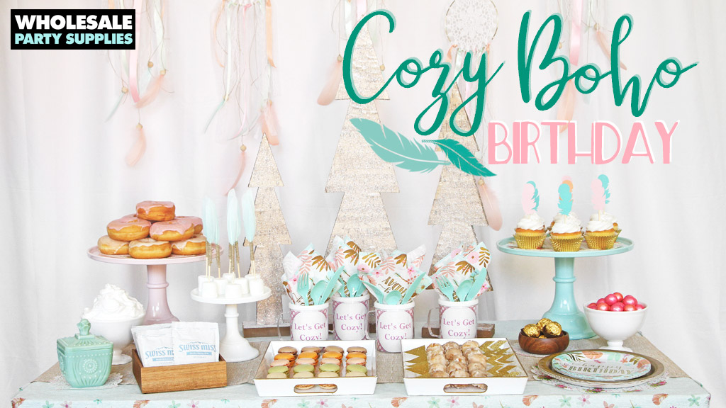 Cozy Boho Birthday Party Ideas