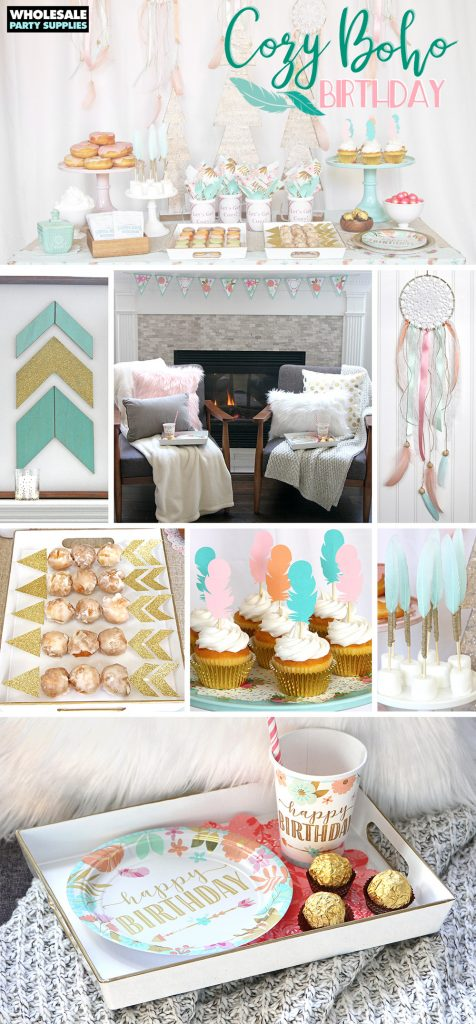 Cozy Boho Birthday Party Ideas Pinterest