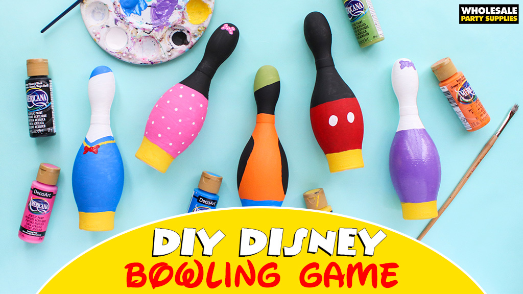 DIY Disney Bowling Game