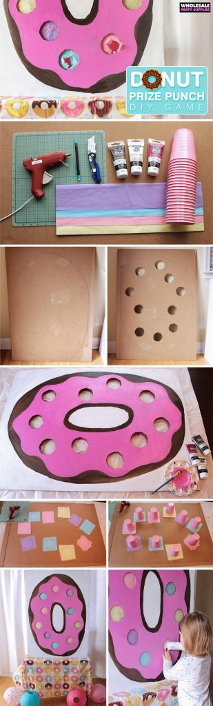 DIY Donut Prize Punch How-To