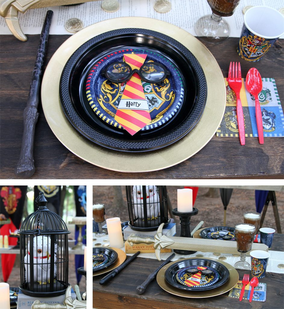 Harry Potter Party Tableware