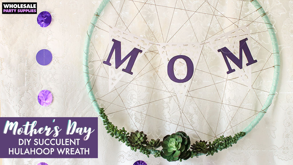 DIY Succulent Dreamcatcher Wreath For Mother's Day Party Ideas Unique Where To Buy Dream Catcher Hoops
