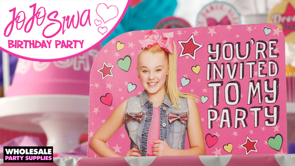 JoJo Siwa Birthday Party Ideas