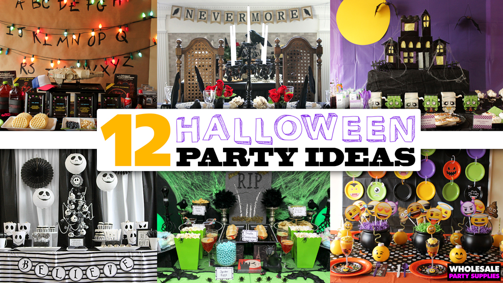 11 Halloween Party Themes