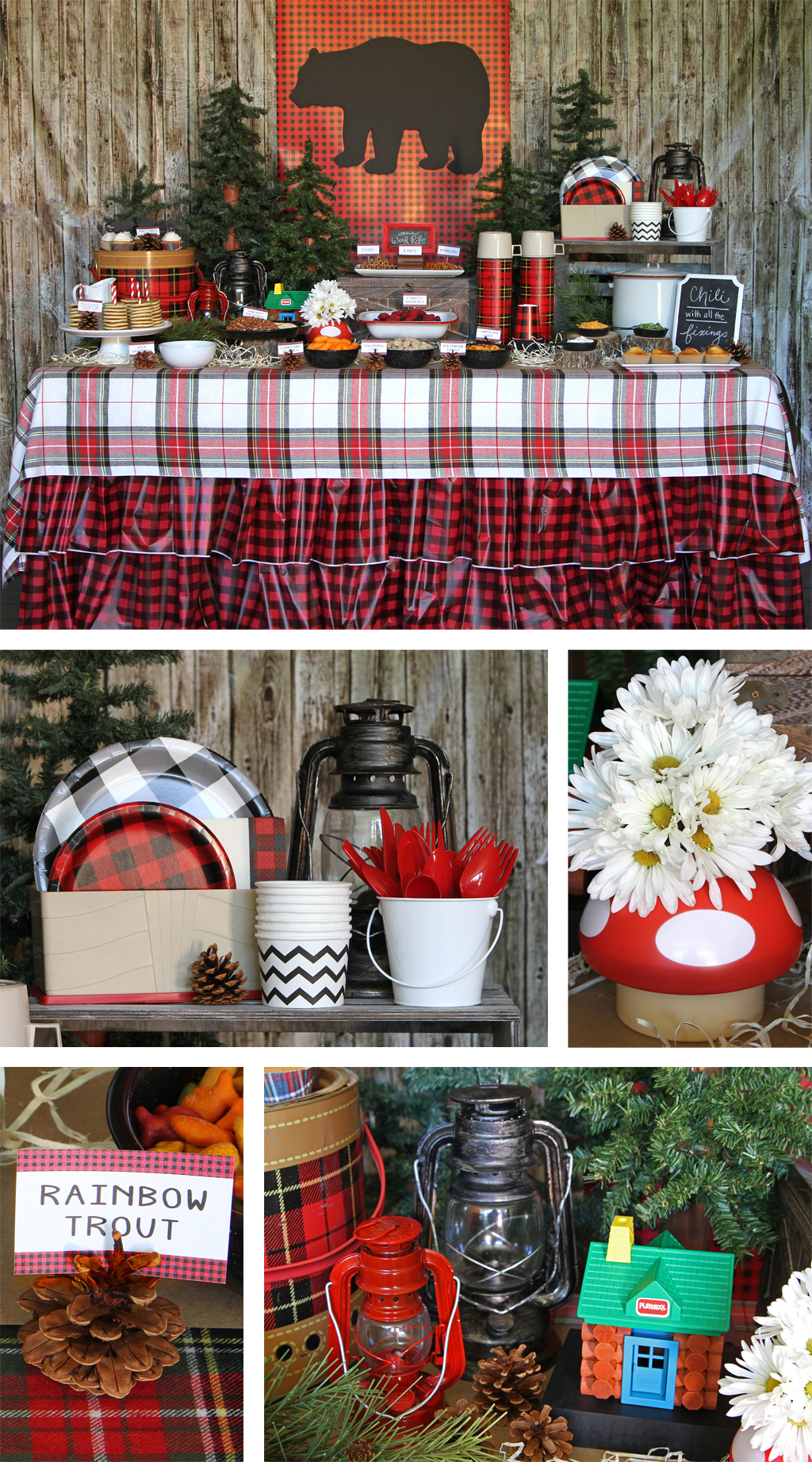 Lumberjack Plaid Party Party Ideas Amp Activities By