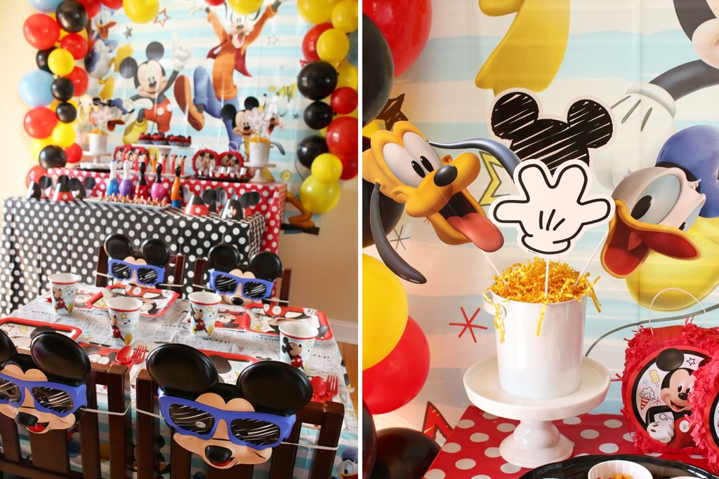Mickey Mouse Party Decoration Details