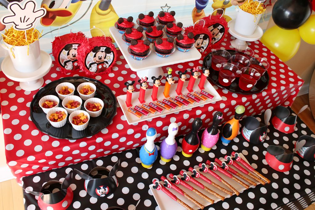 Mickey Mouse Party Food