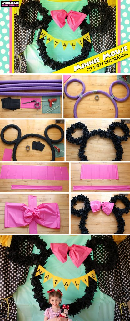 DIY Minnie Mouse Ears Decoration